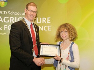 UCD Soil Science Award Winner 2012