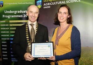 UCD Soil Science Award Winner 2011