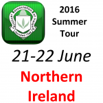 Summer Tour (21-22 June) 2016 – Northern Ireland