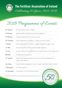 Check out FAI 50th Anniversary Programme of Events for 2018