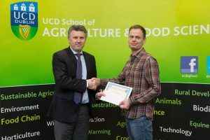 UCD Soil Science Award Winner 2017