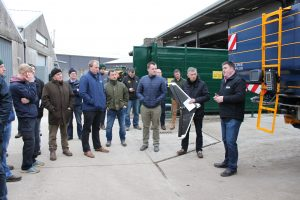 Precise Application of Fertilizer Event at Teagasc Oakpark, 22nd Feb 2018.