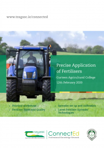 Precise Application of Fertilizer, Gurteen College,Roscrea, Co Tipperary 12th February 2020